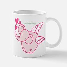 I Have A Little Angel Mugs