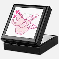 I Have A Little Angel Keepsake Box