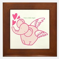 I Have A Little Angel Framed Tile