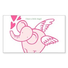 I Have A Little Angel Decal