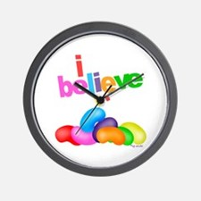 Big Jelly Beans Wall Clock