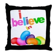 Big Jelly Beans Throw Pillow