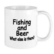 Fishing and Beer. What else is there? Mugs