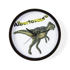 Albertosaurus Wall Clock