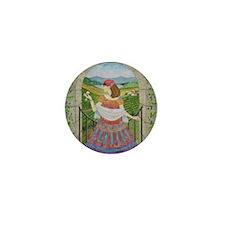 Gypsy WIne Mini Button