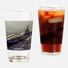 randolph cvs framed panel print Drinking Glass