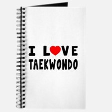 I Love Taekwondo Journal