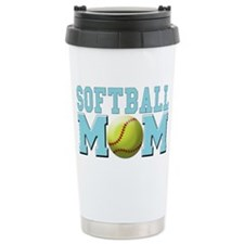 softball mom Travel Mug