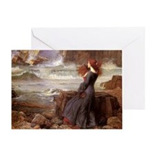 Miranda The Tempest Greeting Card