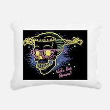 nerd-girl-sk-LG Rectangular Canvas Pillow