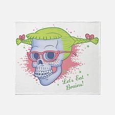 nerd-girl-sk-LTT Throw Blanket