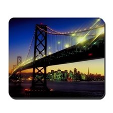 San Francisco-Oakland Bay Bridge Mousepad
