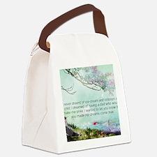 Dreams Come True Canvas Lunch Bag
