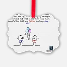 Two Daddy Ornament
