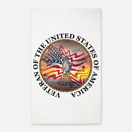 Veteran Of The United States 3'x5' Area Rug