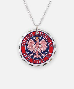 New York NY Polish Necklace