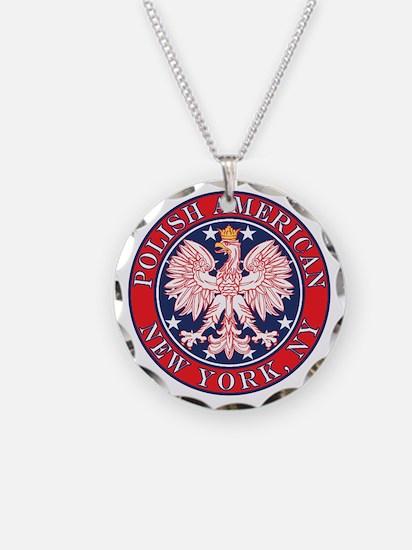 New York NY Polish Necklace