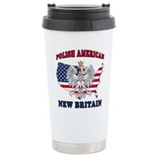 New Britain Connecticut Polish Travel Mug