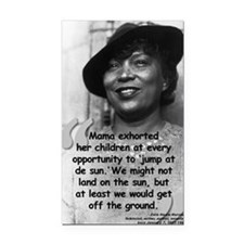 Zora Mama Quote Rectangle Car Magnet
