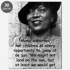 Zora Mama Quote Puzzle