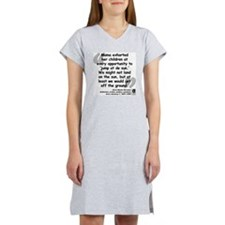 Hurston Mama Quote Women's Nightshirt
