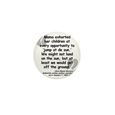 Hurston Mama Quote Mini Button