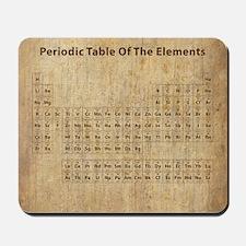 vintageperioidctable Mousepad