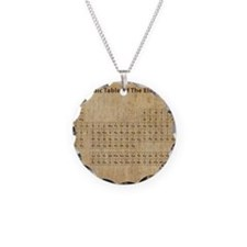 vintageperioidctable Necklace