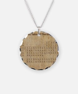vintageperioidctable Necklace Circle Charm