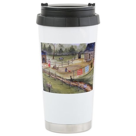 Mary Pattersons Quilts Stainless Steel Travel Mug