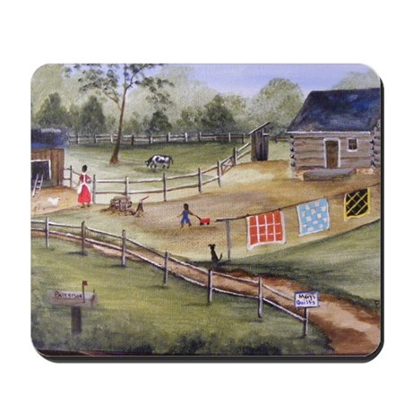 Mary Pattersons Quilts Mousepad