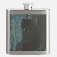 DollyCat Deep Deep Blue - Ragdoll Cat Flask