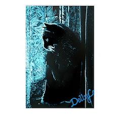 DollyCat Deep Deep Blue - Postcards (Package of 8)