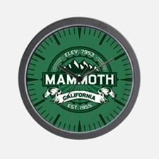 Mammoth Forest Wall Clock