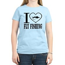 i love fly fishing T-Shirt