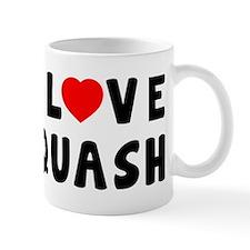 I Love Squash Mug