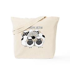 MissingEweCard3 Tote Bag