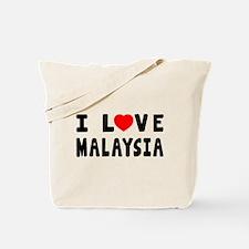 I Love Malaysia Tote Bag