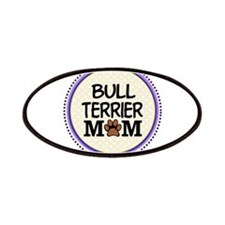 Bull Terrier Dog Mom Patches