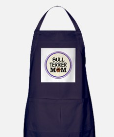 Bull Terrier Dog Mom Apron (dark)