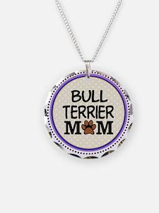 Bull Terrier Dog Mom Necklace