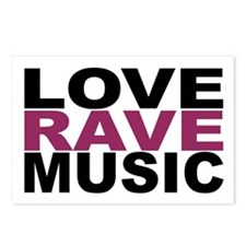 I love house music Postcards (Package of 8)