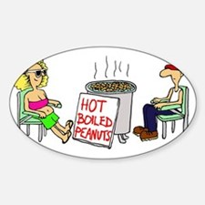 Hot Boiled Peanuts Decal