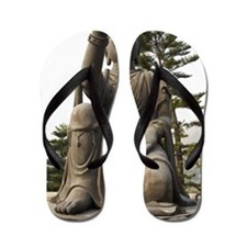 Statue in Po Lin Monastery, Ngong Ping, Flip Flops