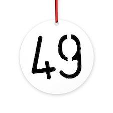 49 Ornament (Round)