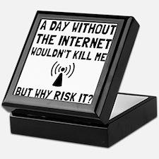 Risk It Internet Keepsake Box