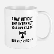 Risk It Internet Mugs