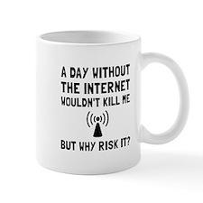 Risk It Internet Mugs