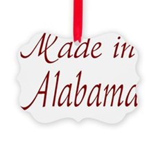 Made In Alabama Ornament