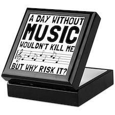 Risk It Music Keepsake Box